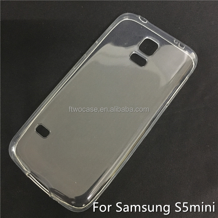 Soft TPU Silicon Transparent Clear Case for Samsung S5 mini