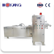 Commercial par fried chicken machine for frozen and prepared food