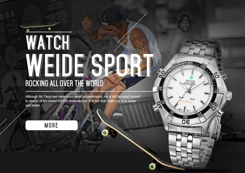 weide sports watch instructions