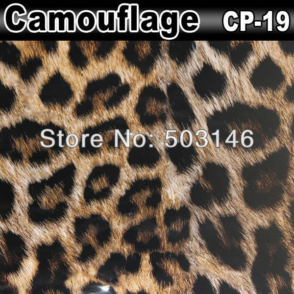 High Quality 1.52X30m Stickers And Decals Vinyl Wrap Camouflage Car Wrap Film