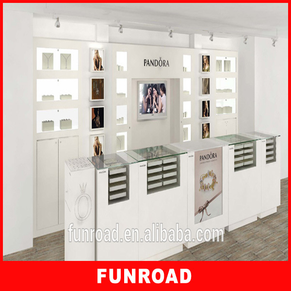 18 years experience factory supply jewellery cabinets for sale