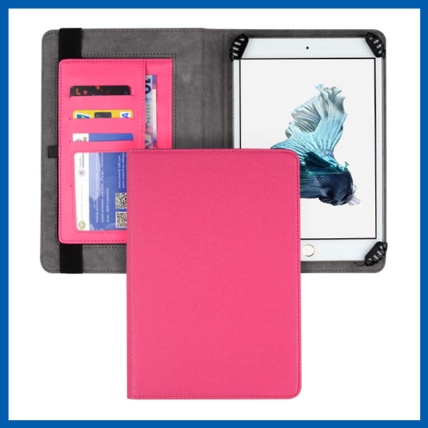 C&T Card Holder Magnetic Flip Wallet PU Leather Cover Case For Ipad Air
