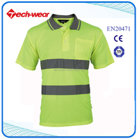 High Visibility New Design No Name Polo Shirt Manufacturers