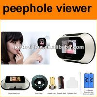 2.5 inch high resolution door peephole viewer camera