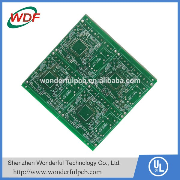 buy pcb with material FR4 green solder mask and 1oz copper
