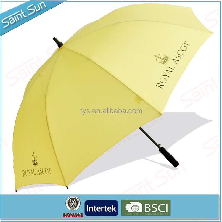 High Quality Promotionals Daily Need Products Solid Rod Fiberglass Straight Golf Umbrella From China Suppliers