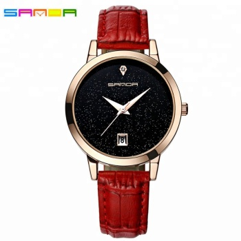 New Design Star Dial Ladies Dress Watches Luxury Women's Fashion Casual Party Watch Women High Quality Black Quartz Famale Clock