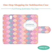 Sublimation Flip Cell Phone Case for OPPO 827