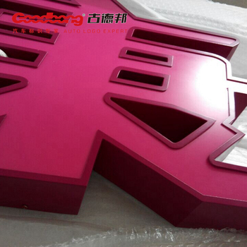 Lighting plastic channel letter sign
