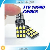 T10 W5W T10 194 168 2835 18SMD Canbus NO ERROR 12V Car Auto t10 led Bulbs Indicator Light Parking Lamps White