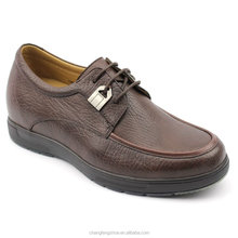 guang zhou factory wholesale soft trendy leather men dress shoes 2015