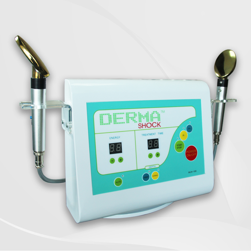 Thailand distributor price skin tightening Golden spoon derma <strong>shock</strong> machine for sale
