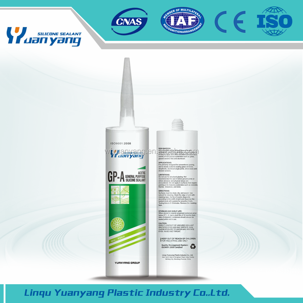 Acetic Silicone Sealant Rtv Silicone Sealants with high quality