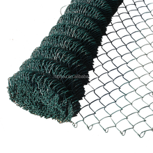 Economical pvc coated galvanized welded chain link diamond wire mesh fence