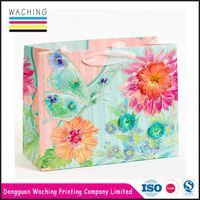Professional Factory Cheap Wholesale top sale euro tote paper gift bag made in china