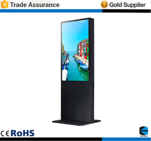 EKAA 55'' 4500cd/m2 Outdoor Digital Signage Price, Large Big Outdoor Advertising Lcd Display Screen TV Totem