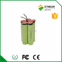 12v rechargeable sub-c battery, 3000mah 12V nimh battery pack SC size for robot cleaner or power tool