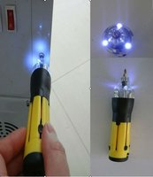 6 in 1 multi screwdriver set with LED flashlight