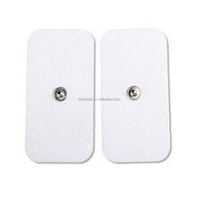 Reusable silicone gel self adhesive electrode pad for tens ems machine