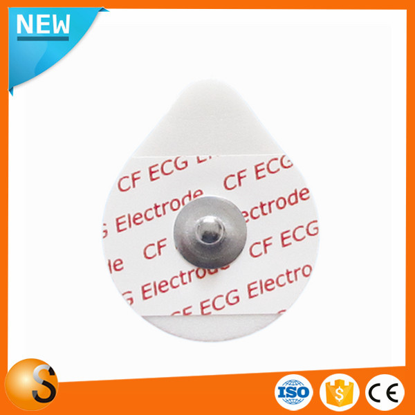 Low price PE foam safety ECG Electrode for ECG machine