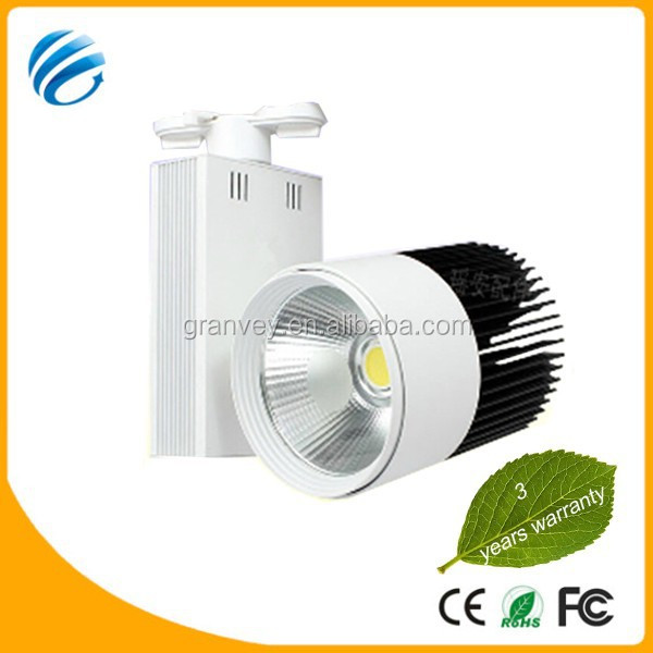 new revolutionary products cob track light,professional lighting,led light CE ROHS led track light 50w AC85-265 high lumen