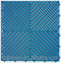 interlocking plastic pvc vinyl flooring tile