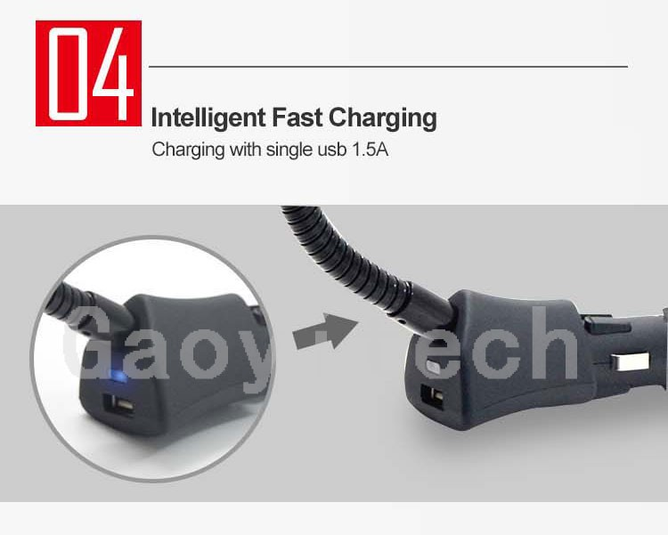 Universal car accessories car charger with magnetic holder factory price