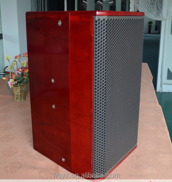 PA sound system high end 500W red color passive top pro speaker