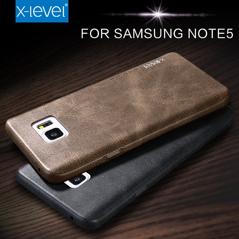 Custom Printed pu Leather Cell Phone Case for Samsung Galaxy Note 5
