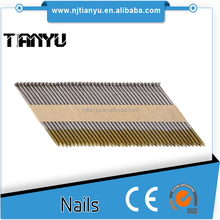 34 Degree Clipped Head Paper Strip Nails, aluminum roofing nails