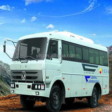 Dongfeng EQ6671PT off road 4x4 special engineering bus
