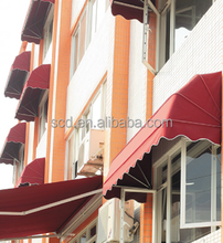 Wind Resistant Outdoor Used Small Canopy Window Shade Awning