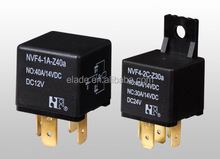 NVF4-1A 12V,24V,48V car lamp relay for automotive flasher car relays of volvo