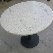 China Heat Resistant Aritificial Stone Acrylic Solid Surface Hot Pot Dining table tops factory Heat Resistant Aritificial Stone