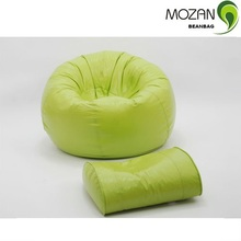 Mengzan modern design fitted sofa bean bag cover