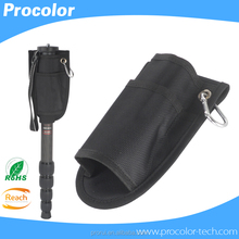 Professional Monopod pockets Carrying Camera Case Portable Pouch Bag with Hook Buckle Holder