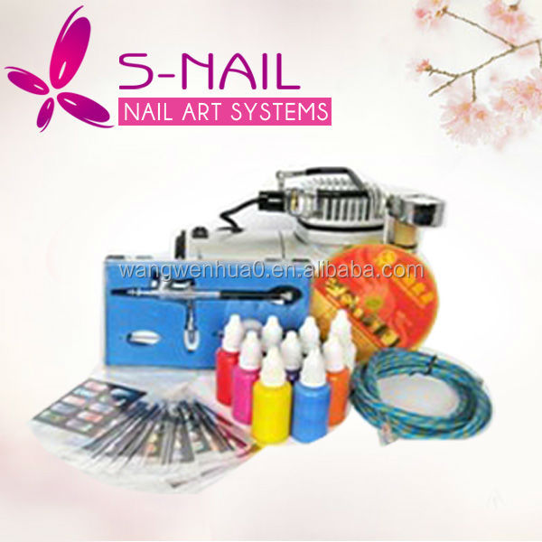 Professional body kit, tatoo airbrush machine, airbrush nail art starter kit