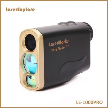 Portable camo mini monocular laser rangefinder for golf and hunting