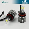 Newsun A340 40W 3600lm auto led headlight 9004 high low beam error free canbus and super cooling