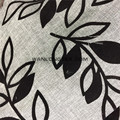Polyester Flocking linen like fabric for sofa cover curtain fabric wholesales