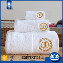 New premium quality commercial promotional cheap terry 5 star luxury wholesale white 100% cotton bath hotel towel