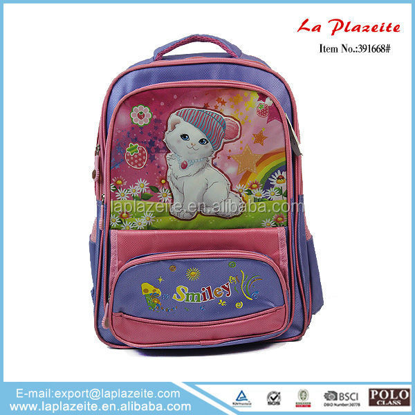 2011 school bag , cat school bag , school bag girl