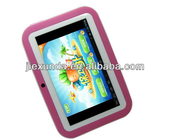R702C Rk2926 512MB 8GB Kids learning computer study pad 7 inch Capacitive Screen Android 4.1 Dual Cam Wifi