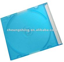 5.2mm cd jewel case low price high quality China export color plastic cd case