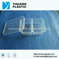 Eco friendly plastic box disposable lunch container