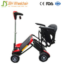 25kg four wheels lightweight mini folding electric mobility scooter