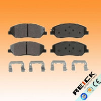 REICK spare parts car truck tractor ceramic disc brake pad replacement Premium Quality high performance freno