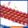 8/10/12/14/16mm Grind arenaceous red agate six-word Momoir agate beads loose gemstone beads wholesale 16""