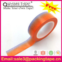 black color for buried pipeline tape,assorted japanese paper tape made in China SGS