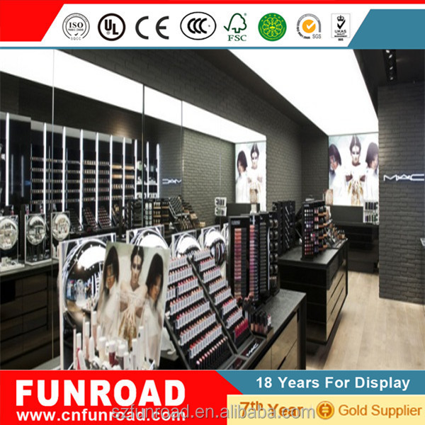 new product excellent cosmetic display counter professional design and moderate price cosmetic display /stand /shelf